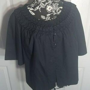 2 for $25 Apt. 9 Embroidered Black Shrug ( Apt.9 )